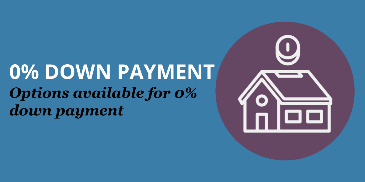 Zero Down Payment Options