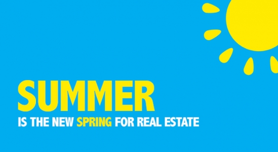 Summer is the New Spring for Real Estate [INFOGRAPHIC]