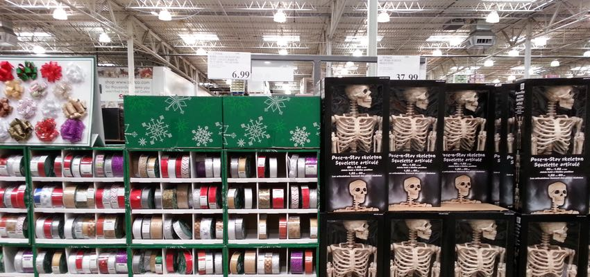 Christmas at Costco
