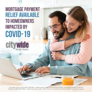 COVID-19 Mortgage Payment Relief