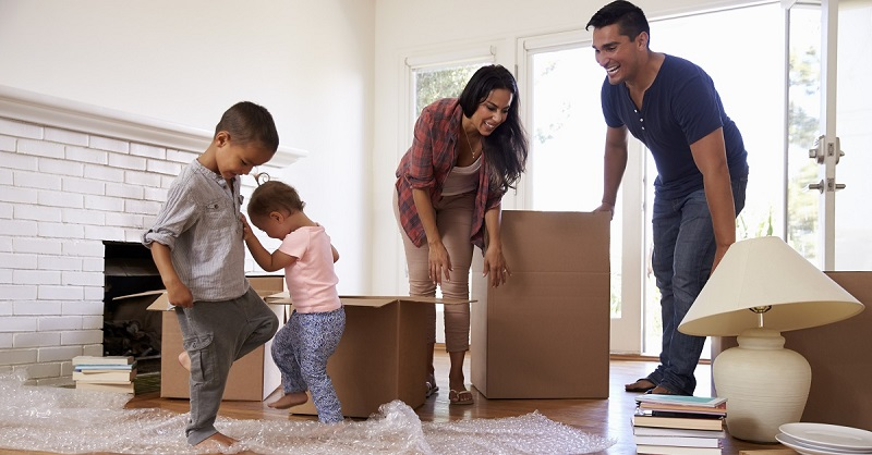 Down payment assistance - moving day