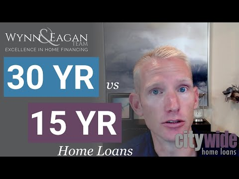 30 yr vs 15 yr Fixed Home Loan