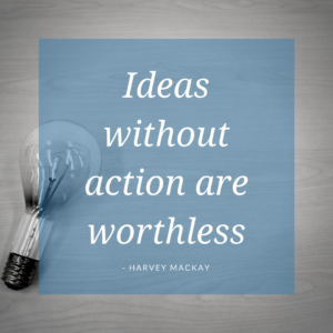 ideas without action